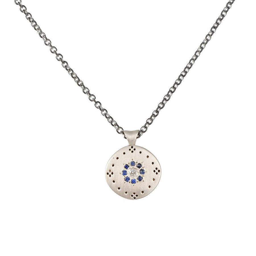 Adel Chefridi - Cluster Sapphire Necklace
