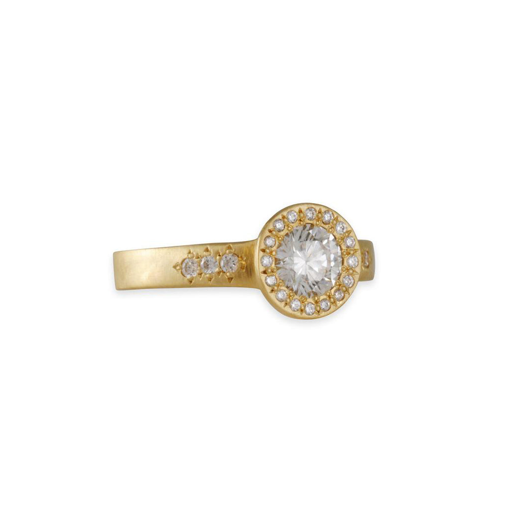 Adel Chefridi - Floret Engagement Ring