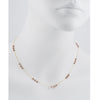 CHRISTINA STANKARD - Bronze Blossom Necklace with Pearls