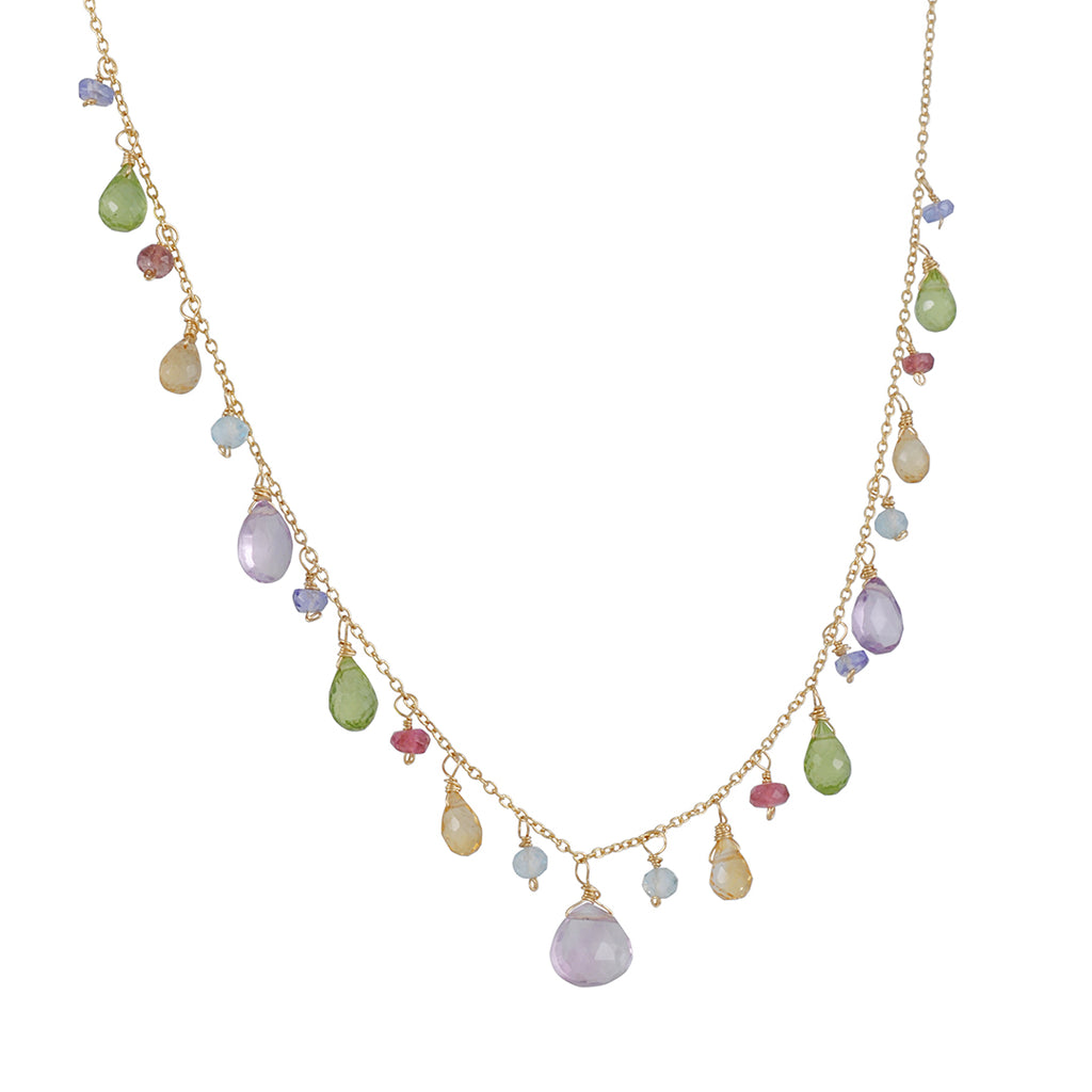 Christina Stankard -Pastel Mixed Necklace