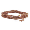 CP Collection - Brown Sapphire Wrap Bracelet and Necklace