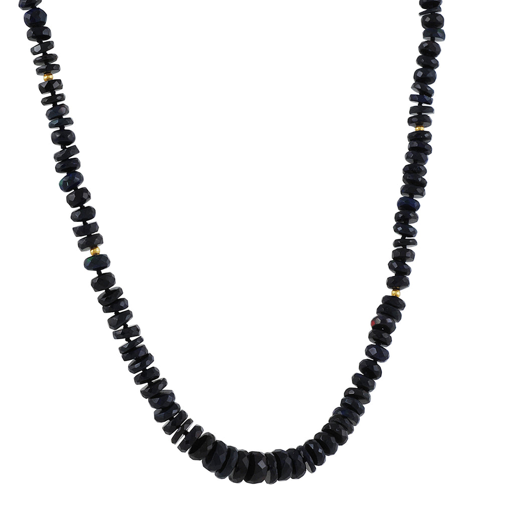 CP Collection - Black Opal Necklace