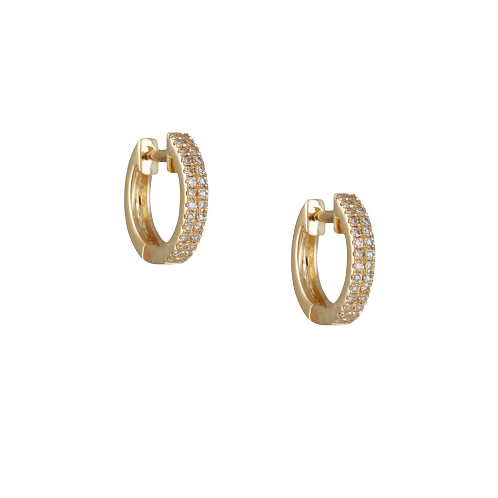 CP Collection - Micropave Huggie Hoops