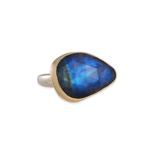 Jamie Joseph - Rainbow Moonstone Ring