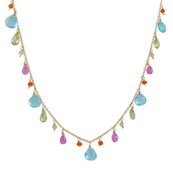 Christina Stankard - Multi-Brioltette Necklace