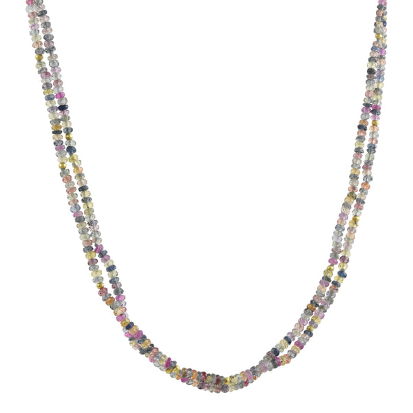 Hill House - Multi Sapphire Convertible Wrap Bracelet/Necklace