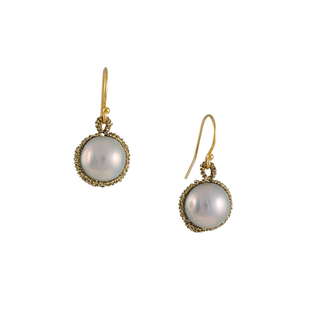 Danielle Welmond - Pearl Orbit Earrings