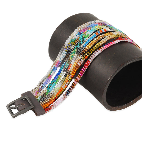 Julie Rofman-Eight Rainbow Mix Bracelet