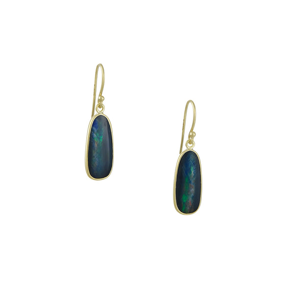 Kothari - Boulder Opal Stick Drop Earrings