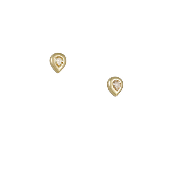 Diana Mitchell - Champange Diamond Essential Studs