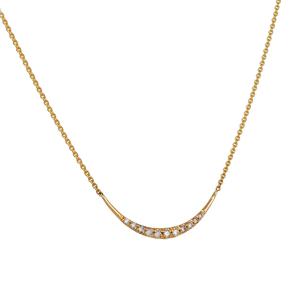 Diana Mitchell - Pave Arch Necklace