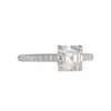 RICHARD LANDI- Classic Prong Setting with Asscher Cut