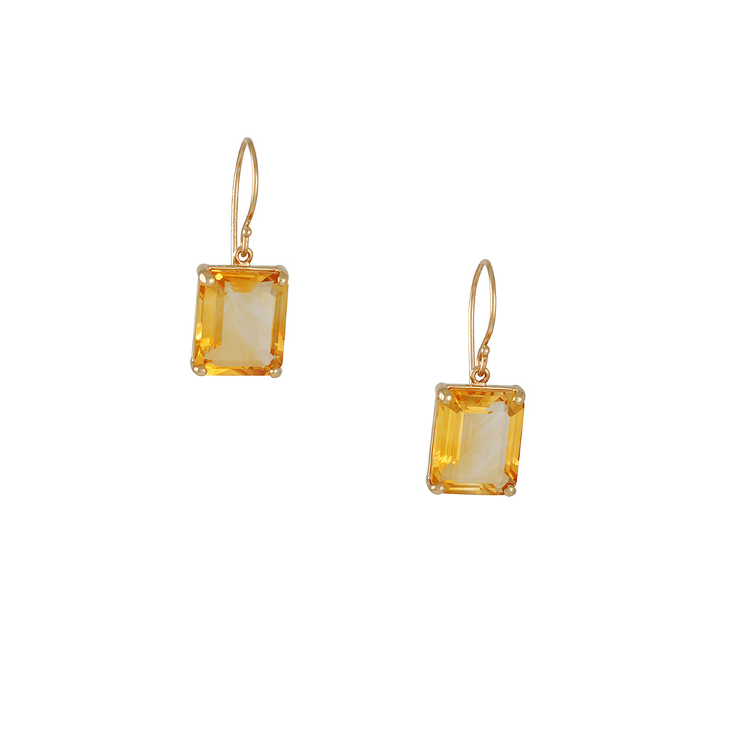 Jamie Joseph - Citrine Earrings