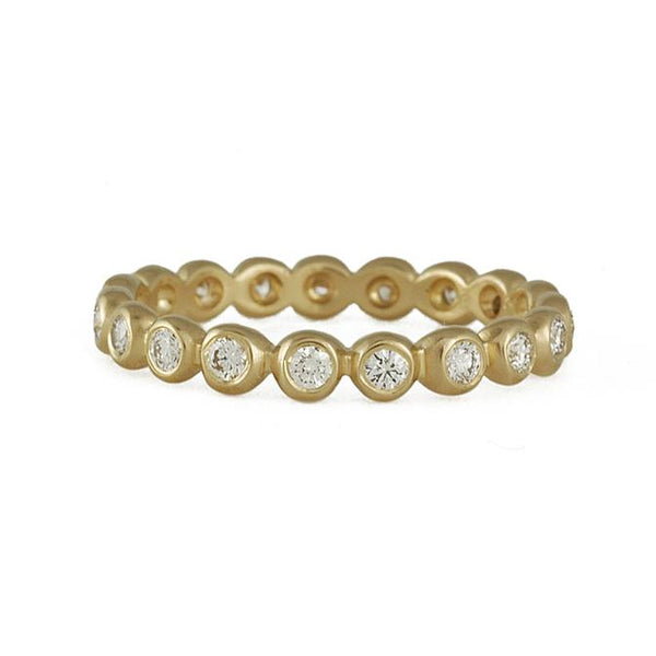 Marian Maurer - 2mm Diamond Porch Eternity Band