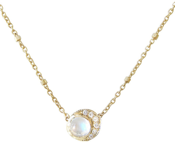 Misa Jewelry - Baby Moon Necklace