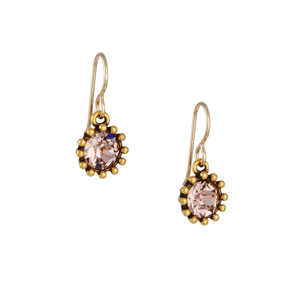 Patricia Locke - Cupcake Earrings in Champagne