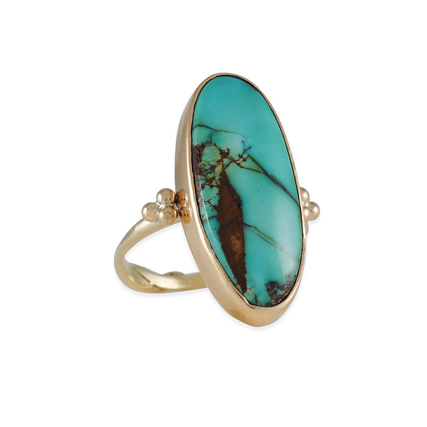 Emily Amey - Bisbee Turquoise Ring