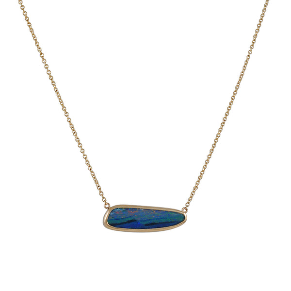 Emily Amey - Small Opal Doublet Necklace