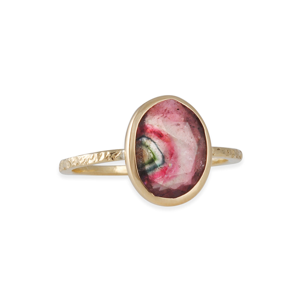 Emily Amey - One-of-a-Kind Bicolored Tourmaline Ring