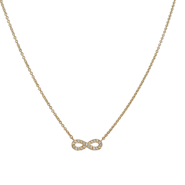SYDNEY EVAN - Infinity Necklace in Gold
