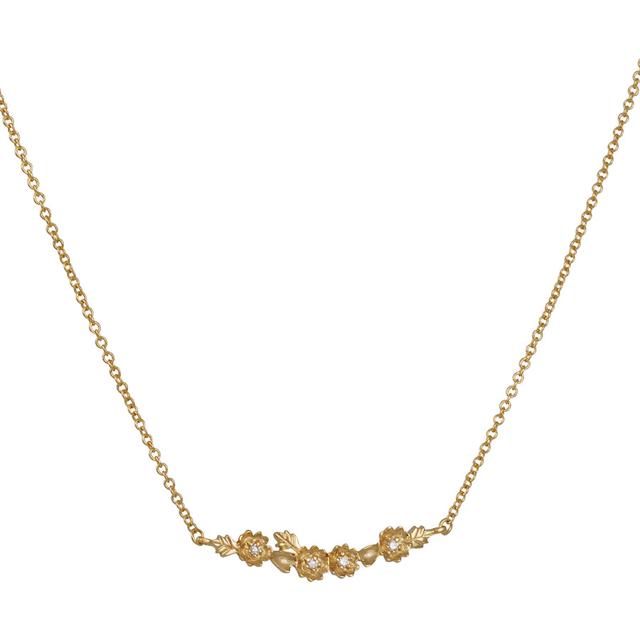 Megan Thorne - Buttercup Crescent Necklace