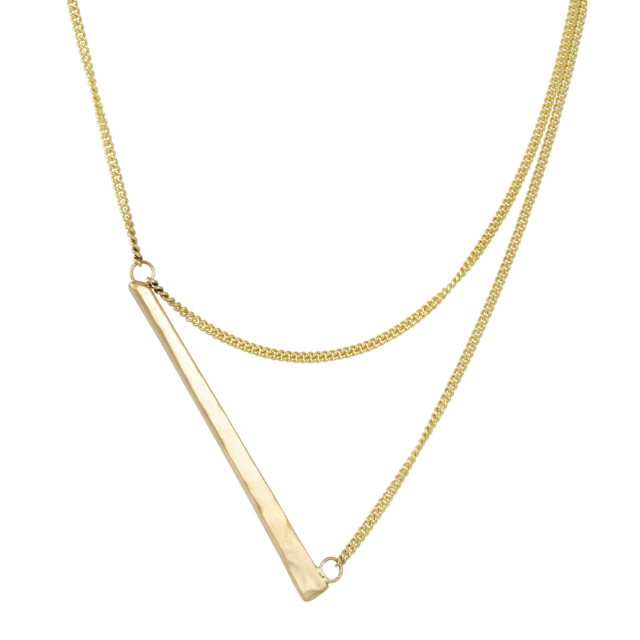 Zuzko Jewelry - Bandana Necklace in Goldfill