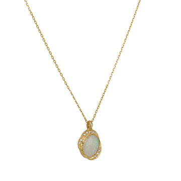 Misa Jewelry - Oasis Opal Necklace