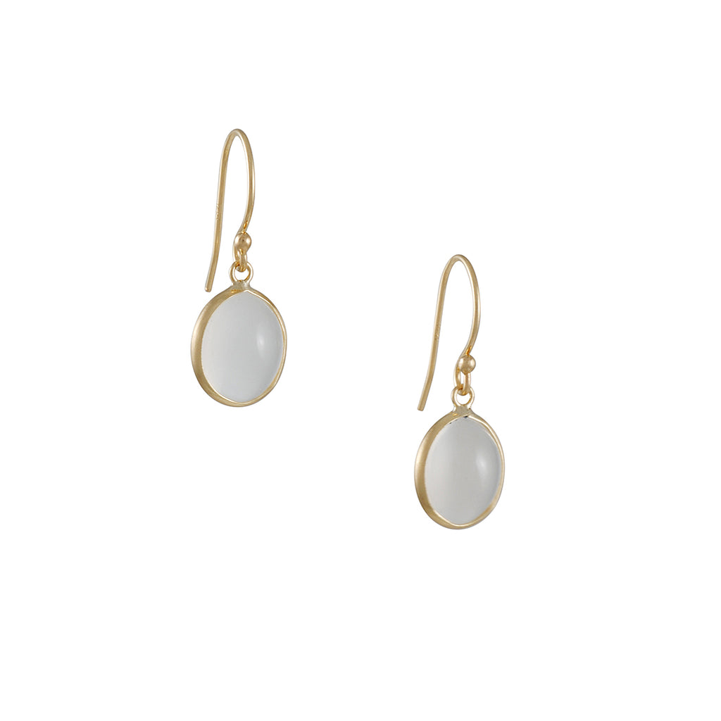 Margaret Solow Moonstone Earrings