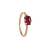 JENNIFER DAWES - Oval Ruby Stack Ring