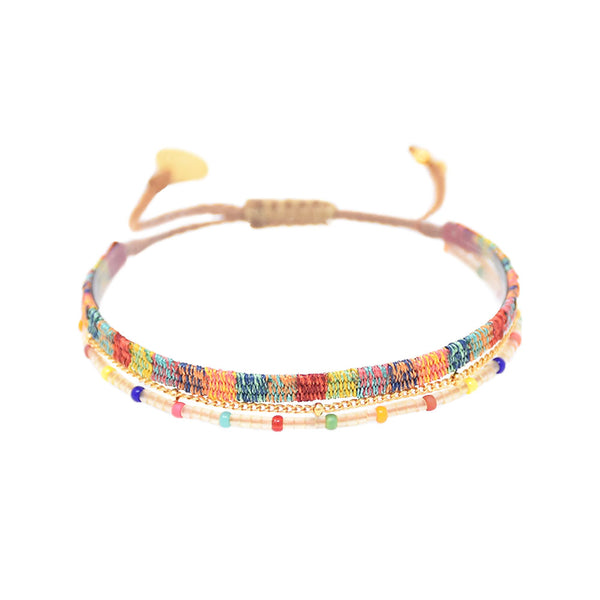 Mishky - Maya Bracelet With Mixed Color Palate