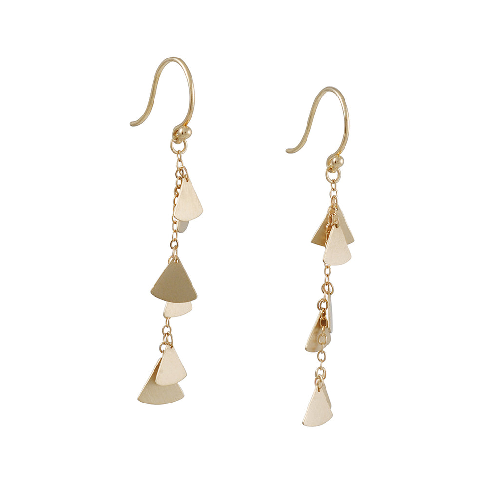 Carla Caruso - Cascade of Ginko Earrings