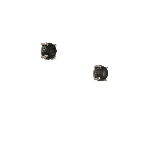Suzanne Kalan - Cushion Cut Black Quartz Studs