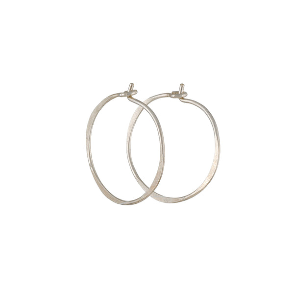 Christine Fail -Small Round Hoops