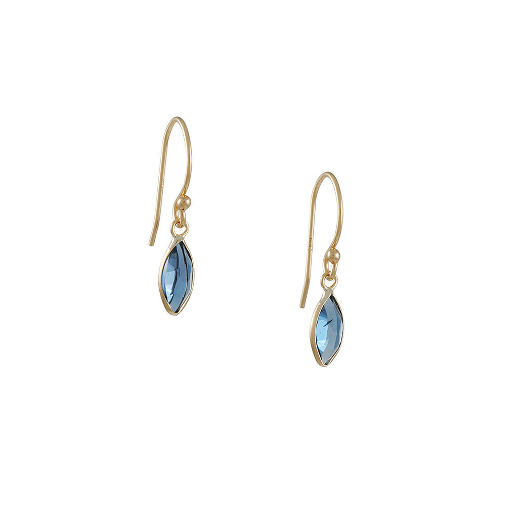 Margaret Solow - Light Blue Topaz Earrings