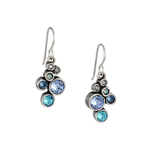 Patricia Locke - Splash Earrings in Zephyr
