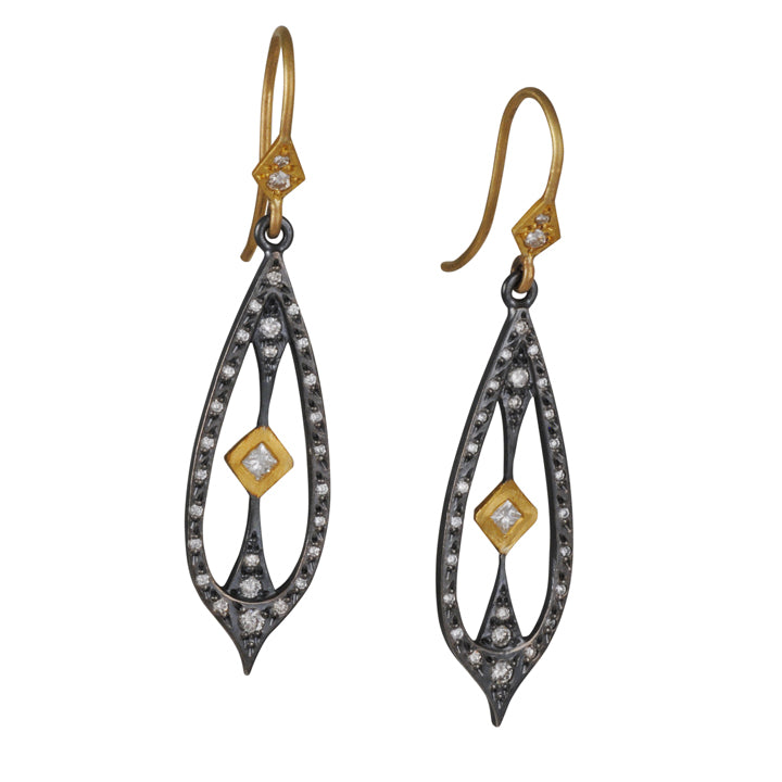 Annie Fensterstock - Gothic Pendulum Earrings