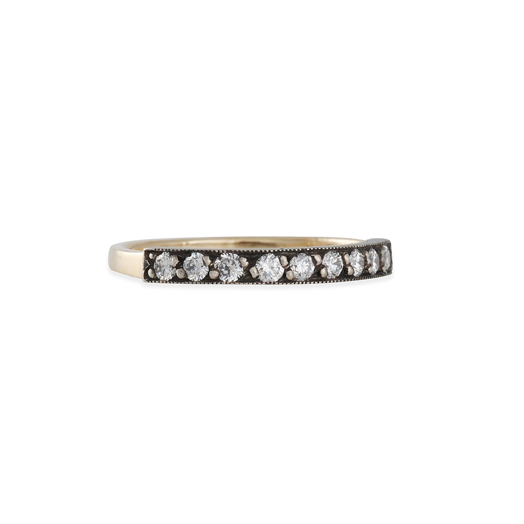 Blanca Monros Gomez - Two Tone Diamond Band