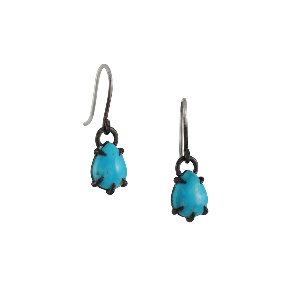 Hannah Blount - Baltic Sea Turquoise Studs