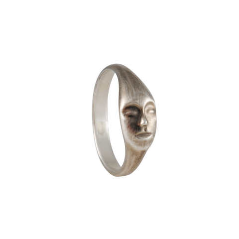 Hannah Blount - Cameo Sterling Silver Ring