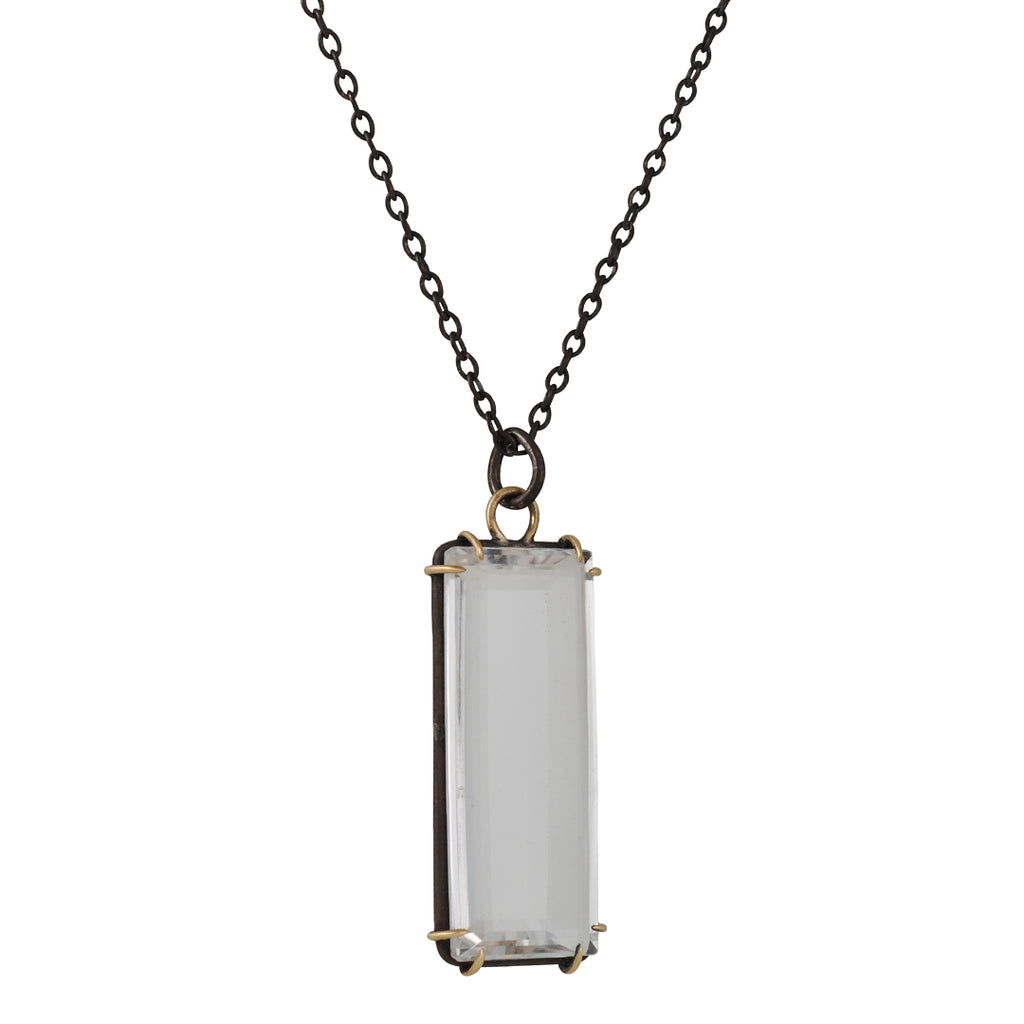 Hannah Blount - Prisim Quartz Necklace