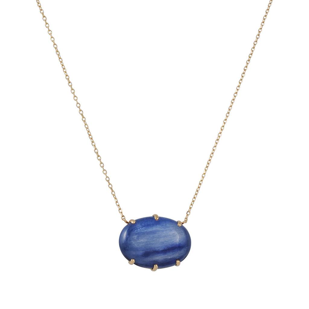 Jamie Joseph - Kyanite Prong Necklace