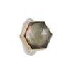Jamie Joseph - Black Mother of Pearl Ring