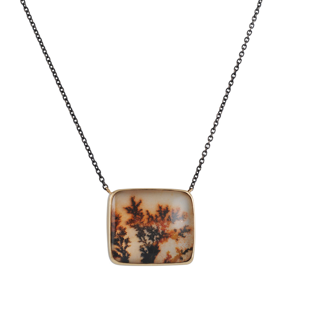 JAMIE JOSEPH - Dentritic Agate Necklace