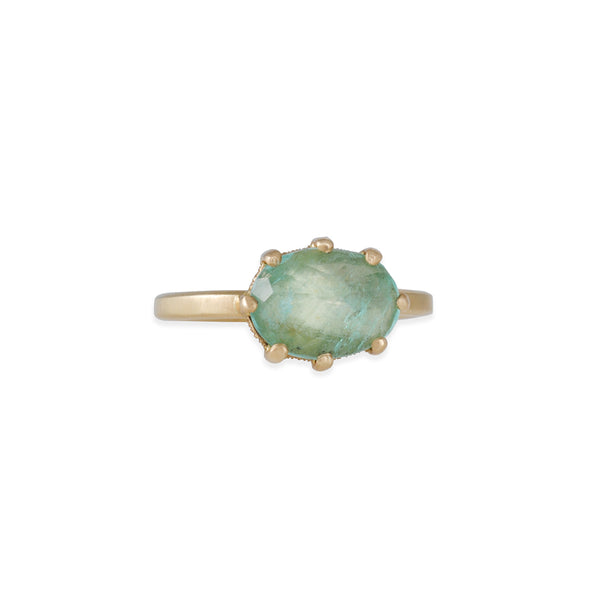 Jamie Joseph - Oval Emerald Ring