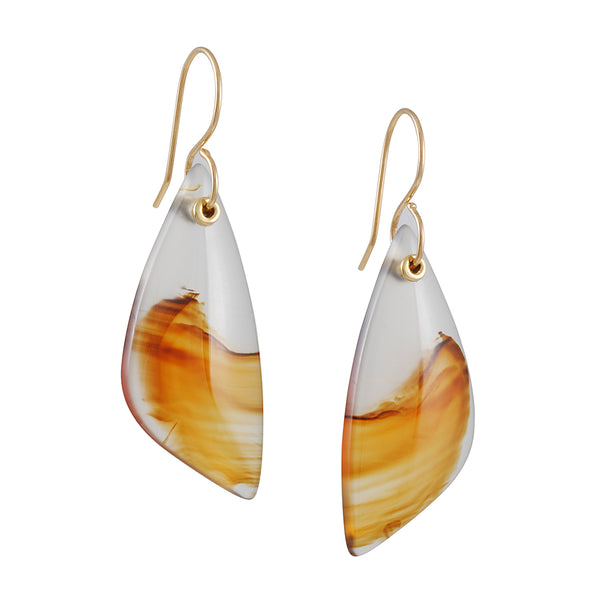 Jamie Joseph - Montana Agate Earrings