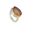 Jamie Joseph - Druzy Agate Ring with Diamond
