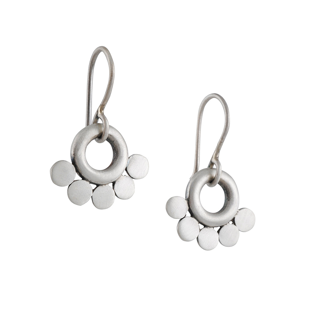 Jane Diaz - Ring and Disc Earrings