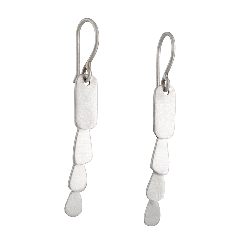 Jane Diaz - Rectangular Cascade Earrings