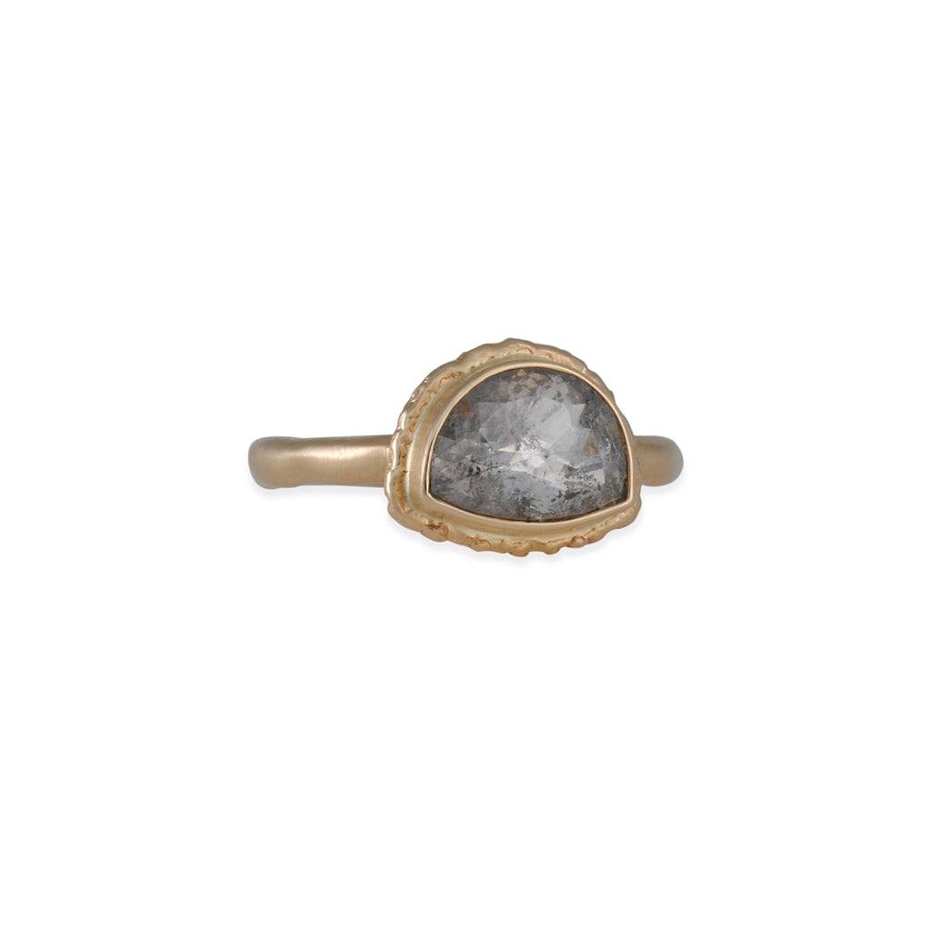 Jamie Joseph - Half Moon Raw Diamond Ring