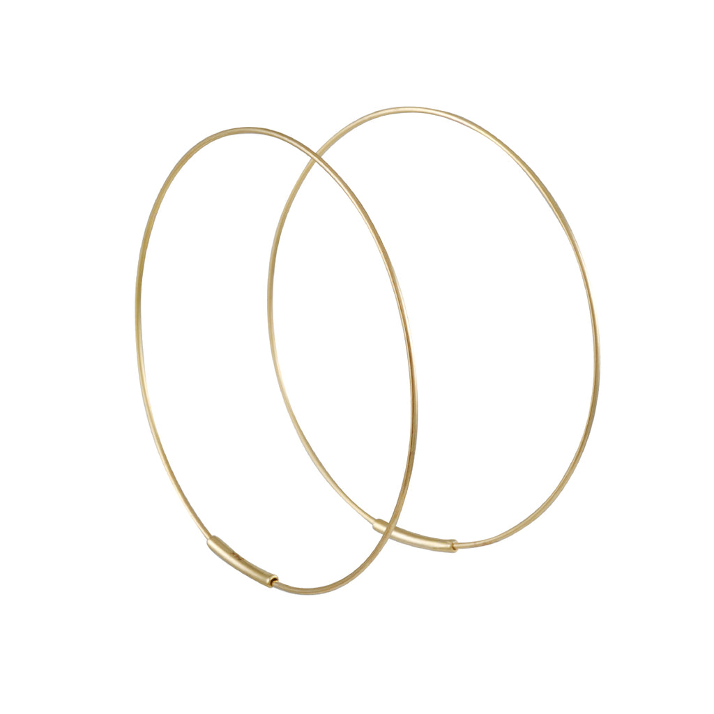 Kathleen Whitaker - Medium Hoop Earrings